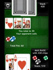 Texas Holdem Free Poker - offline heads up high level play